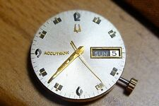 Bulova accutron werk movement defekt for parts 2182