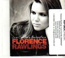 (DR193) Florence Rawlings, Love Can Be A Battlefield - 2010 DJ CD