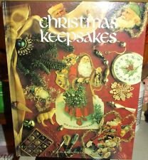 1ST ED CHRISTMAS Keepsakes CROSS STITCH holiday designs Angels Santa Claus Tree