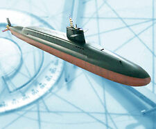 MODEL BOAT PLANS ATOMIC SUB RADIO CONTROL FULL SIZE PRINTED PLAN & BUILD NOTES