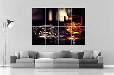 WHISKY MOMENT Wall Art Poster Great format A0 Wide Print