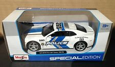 2010 Chevrolet Camaro SS RS POLICE Diecast  Special Edition 1/24 scale New