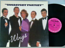 "Wings-Goodnight Tonight (12"") MAXI usa-1979 Columbia 23-10940"