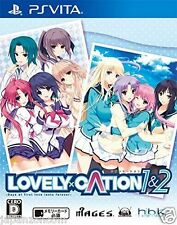 Used PS Vita LOVELY x CATION 1 & 2 SONY PLAYSTATION JAPANESE IMPORT