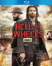 Hell on Wheels: The Complete Third Season (Blu-ray Disc, 2014, 3-Disc Set)