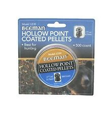 New Authentic Beeman Air Rifle Hollow Point Pellets 177 Caliber 500 Count 1230