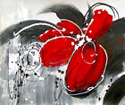 """24x20"""" Modern Abstract Art Oil Painting Flower/Pure Hand-painted/NO Frame"""