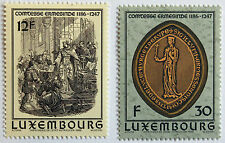 Timbres / Stamp LUXEMBOURG Yvert et Tellier n°1108 et 1109 n** (cyn11)