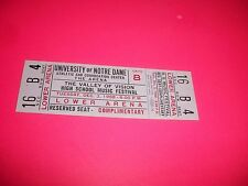 VALLEY OF VISION HIGH SCHOOL MUSIC FESTIVAL TICKET 12-3-1968