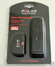 Polar WearLink Transmitter Heart Rate Sensor Size M-XXL Works With Nike+ - New
