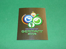 N°3 AFFICHE PANINI FOOTBALL GERMANY 2006 COUPE MONDE WM FIFA WORLD CUP