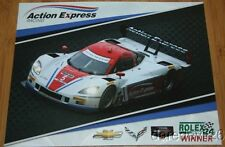 2014 Action Express Racing Chevy Corvette DP IMSA TUSC postcard