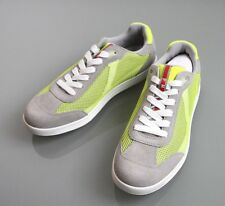 New Authentic Prada Mens Suede/Mesh Sneakers Shoes UK 8/US 9, 4E2501