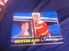 1960s BMC Austin A60 Cambridge Saloon Color Brochure Prospekt