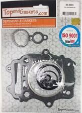Top End Gasket Kit 1990-1999 Suzuki DR350 Manual head Base Valve seals