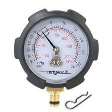 Mityvac Mtymva6176 Compound Vacuum/Pressure Gauge, Psi/In-Hg New