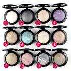 Sexy Eye Shadow Makeup Powder Pigment Mineral Glitter Shimmer Eyeshadow 12 Color