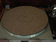NEW Cork / Rubber Turntable Mat Rega Linn Avid Pro-Ject VPI Thorens Music Hall