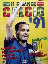 Album Calciatori IL Grande Calcio 1991 -  Schillaci VUOTO ed. Vallardi