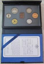 Japan Proof Coin 6pcs Set 1994 Mint Bureau 日本原装带证书 (1994年)精制套 平成六年