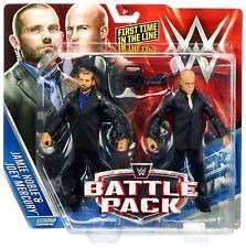 WWE J & J SECURITY FIGURES BATTLE PACK 37 JAMIE NOBLE JOEY MERCURY FIRST IN LINE