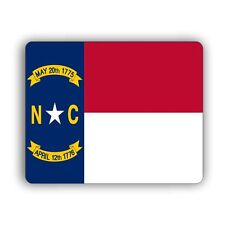 North Carolina State Flag Computer Mouse Mat Pad Desktop PC Laptop
