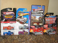Hot Wheels Lot of 7 Custom '56 Ford F-100 Truck Variation Ultra Hots Garage