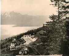 Photoglob, Suisse, Rigi Kaltbad et la Pilatz  vintage photomechanical Photoméc