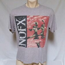 VTG Nofx T Shirt Punk In Drublic 90's Concert Tour 80's Rock Metal Mens Large