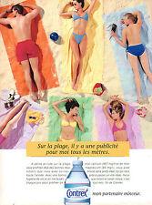Publicité Advertising 1996  CONTREX  eau minérale naturelle ..
