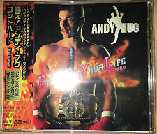 Gotthard  Fight For Your Life  ANDY HUG 1997 CD JAPAN / OOP  OBI / BVCP 9217