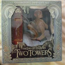 Lord Of The Rings TWO TOWERS Rare Limited Edition R2 GOLLUM ext DVD box set