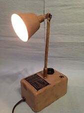 Vintage Roxter Corp. Desk Lamp Unique Lamp 12 Volt Bulb - Dimmer Option