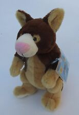 Tree Kangaroo WEBKINZ PLUSH new with code ganz stuffed animal