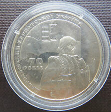Ucraina Coin 2 hriven 2009 70 anni della Proclamazione della al carpatho-UCRAINA