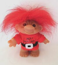 Bingo Troll By Dam Lucky Santa 5 Inch Doll Christmas Holiday