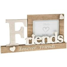 "Friends Wooden Vintage Style Mantel Photo Frame Gift 3.5"" x 5"" 61907"