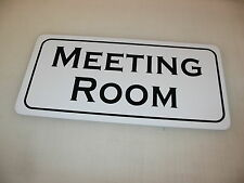 MEETING ROOM Metal Sign 4 Community Play House Theater Drama Class Business