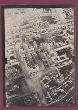 PHOTO 230716 - GUERRE 14/18 - REIMS - bombardement mai 1917 vue d'avion