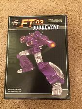Fans Toys Transformers MP Masterpiece FT-03 Quakewave Not Shockwave 1st Release