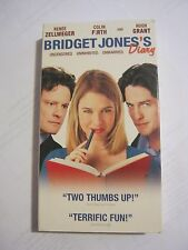 Bridget Jones's Diary - Renee Zellweger, Colin Firth, Hugh Grant  (VHS) (GS1-29)