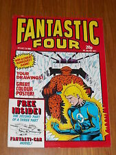 FANTASTIC FOUR #3 MARVEL BRITISH WEEKLY 20 OCTOBER 1982 WITH FREE GIFT