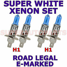 FITS ALFA ROMEO 156 SPORT WAGON 00-ON   H1   H1  XENON SUPER WHITE LIGHT BULBS