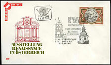 Austria 1974 Renaissance FDC First Day Cover #C18470