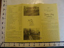 vintage Paper--1944 BLUE PRINTS AND CASTINGS from YANKEE SHOP MACHINISTS train