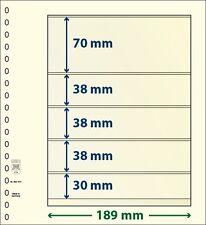 Lindner T-Blanko-Blätter mit fünf Taschen im 10er Pack  Art.-Nr. 802 514