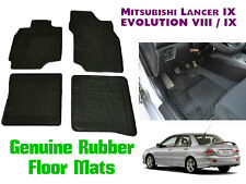 GENUINE MITSUBISHI 2003-2008 LANCER 9 All Weather Floor Mats Rubber MZ312910 EVO