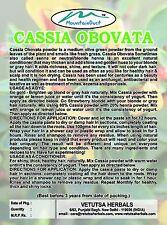 100% pure Senna (Cassia Obovata) neutral henna Hair Colouring Powder 500g