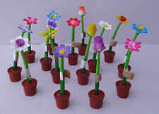 36 x assorted FLOWER PENS, PTA, Fete, lucky dip, tombola, gifts,