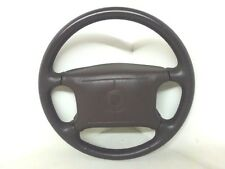 2001 GMC Jimmy Black Leather Steering Wheel OEM Nice